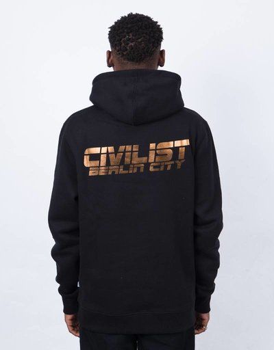 Civilist Techno Hood Black