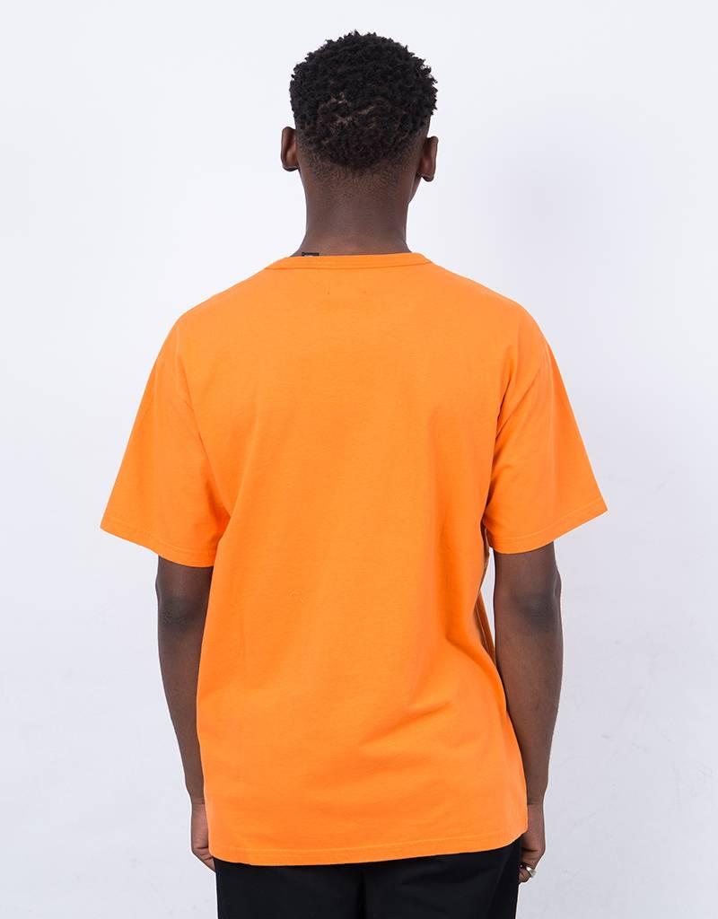 Levi's Skate Black Core Logo T-Shirt Orange