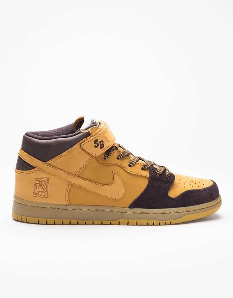 Nike sb dunk mid pro cappuccino/bronze-wheat