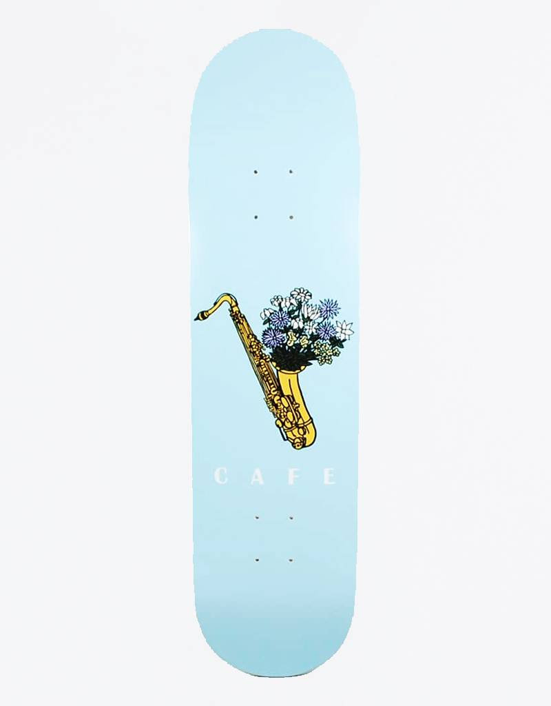 "Skateboard Cafe Sax Flowers 8,25"" Deck"