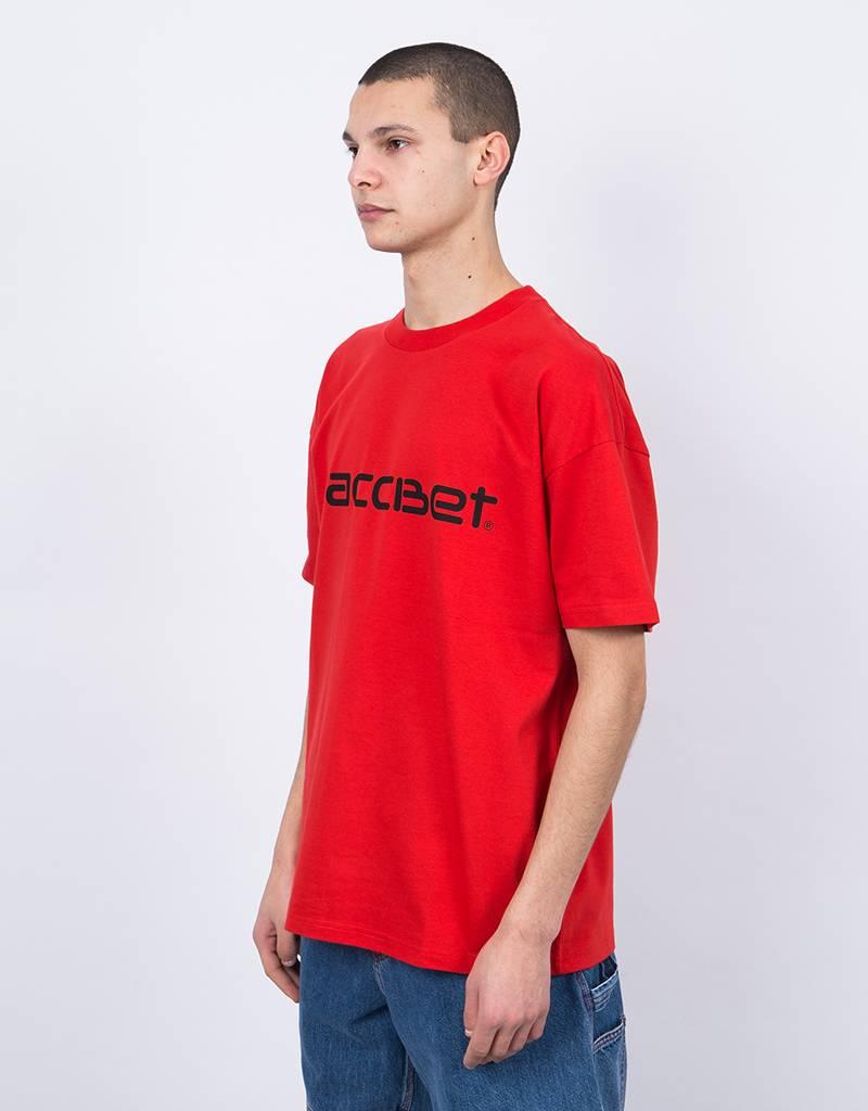 Carhartt X Paccbet Logo T-Shirt Red