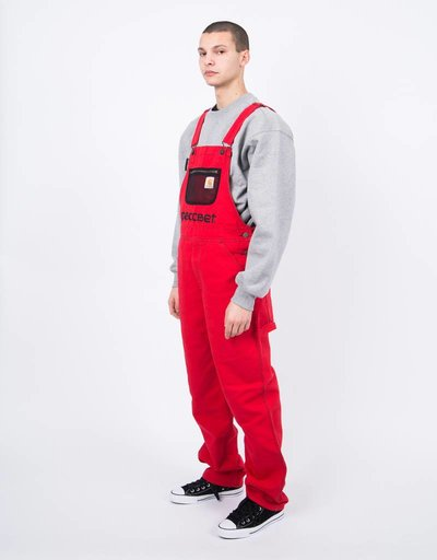 Carhartt X Paccbet Overall Red