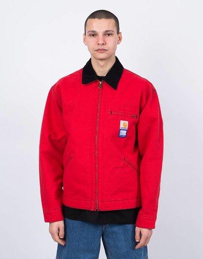 Carhartt X Paccbet Detroit Jacket Red