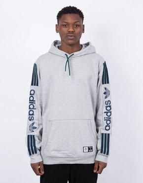 Adidas Adidas quarzo fleece Hoody mgreyh