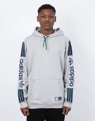Adidas quarzo fleece Hoody mgreyh