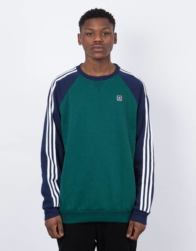 Adidas uniform crew  cgreen/nindig/white