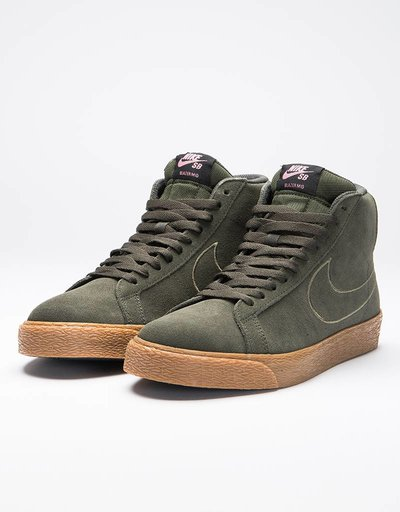 Nike SB Zoom Blazer Mid sequoia/sequoia-medium olive-black