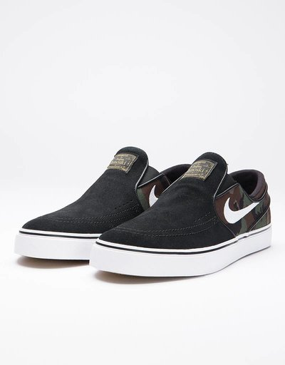 Nike SB Zoom Stefan Janoski Slip black/white-multi-color