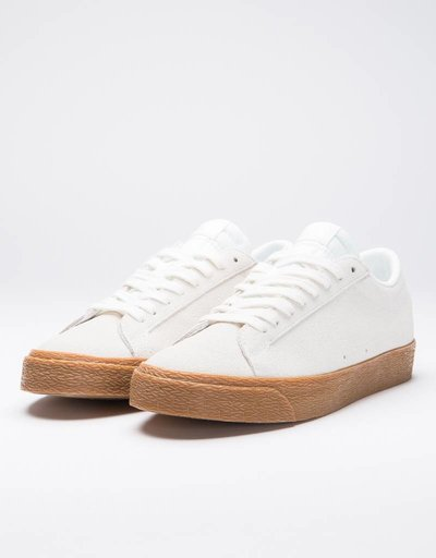 Nike SB Zoom Blazer Low summit white/summit white-gum med brown