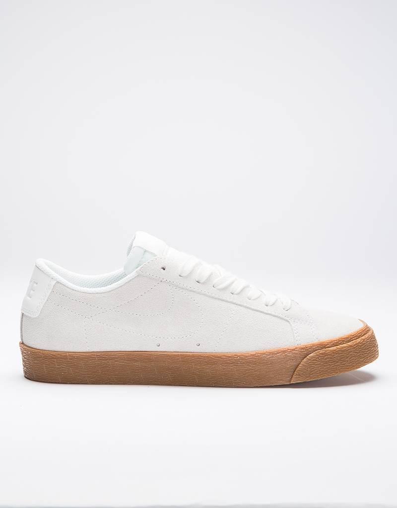 Nike SB Zoom Blazer Low summit white/summit white-gum med brown