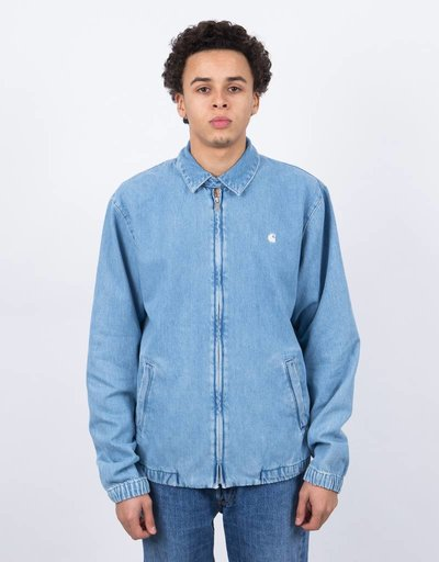 Carhartt Madison Jacket Blue/White Stone Bleached