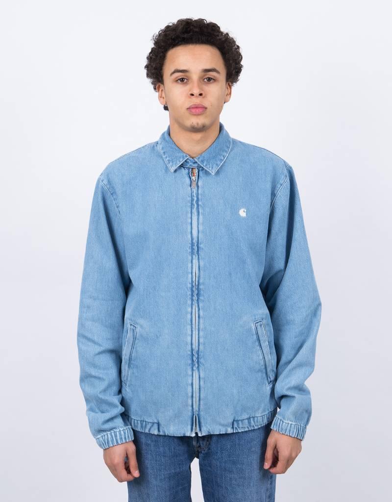 Carhartt Madison Jacket Blue/White Stone Bleached