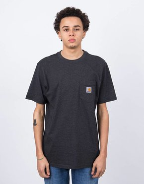 Carhartt Carhartt S/S Pocket T-Shirt Black Heather