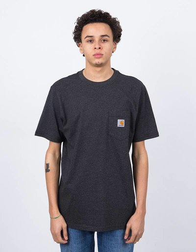 Carhartt S/S Pocket T-Shirt Black Heather