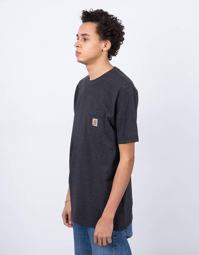 Carhartt S/S Pocket T-Shirt Black Heather