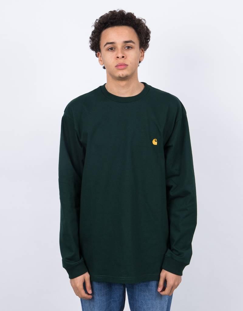 Carhartt L/S Chase T-Shirt Tasmania/Gold