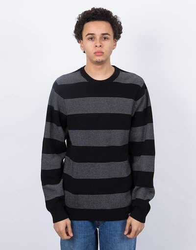 Carhartt Atlantic Sweater Atlantic Stripe Black