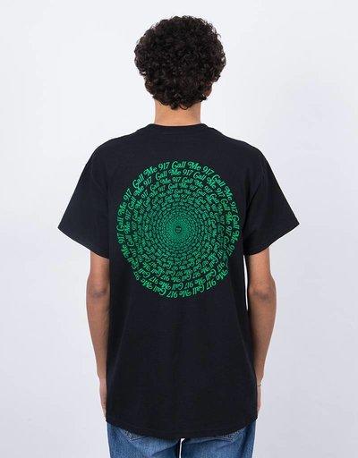 Call Me 917 Hypnotic T-Shirt Black