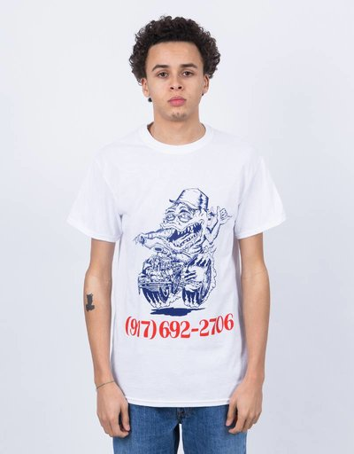Call Me 917 Skate Rat T-Shirt White