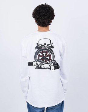 Fucking Awesome Fucking Awesome x Independent Hostage Longsleeve White