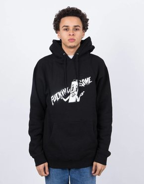 Fucking Awesome Fucking Awesome Cig Man Hoodie Black