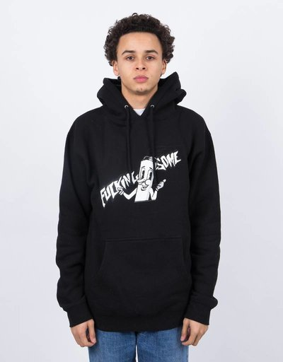 Fucking Awesome Cig Man Hoodie Black