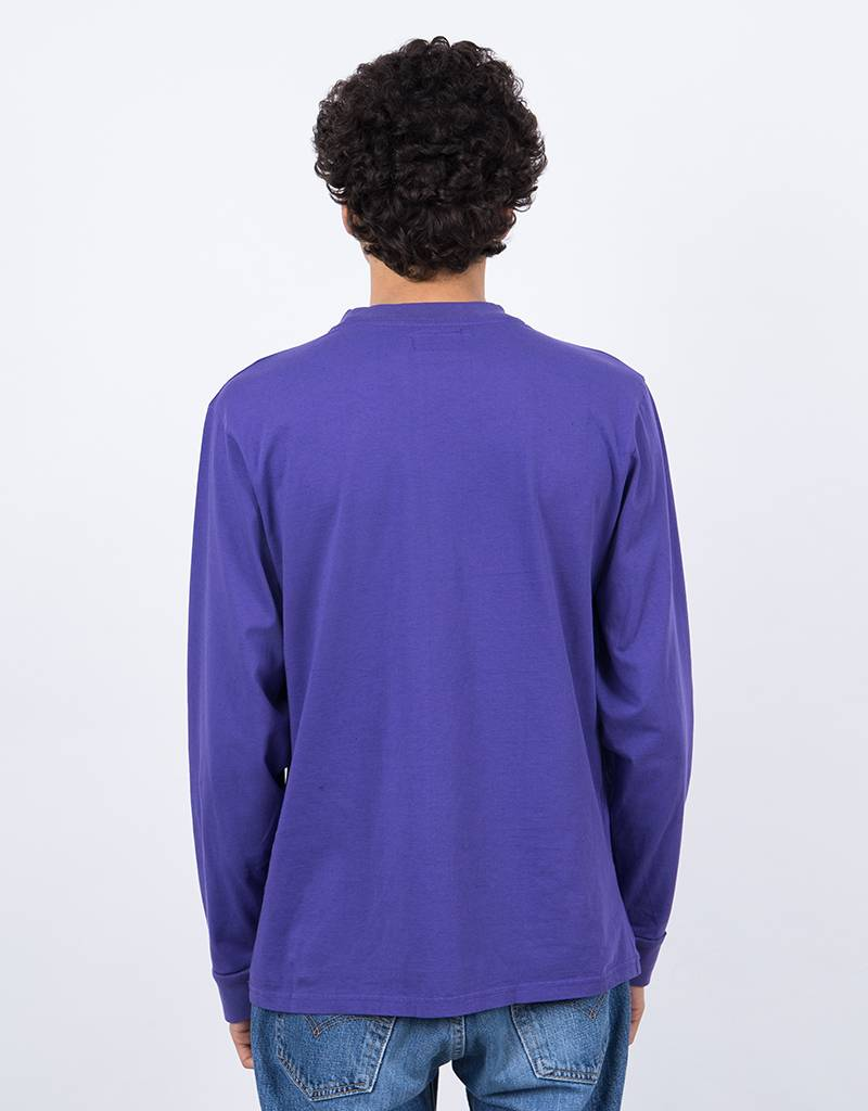 Blobys Paris Logo Longsleeve Purple