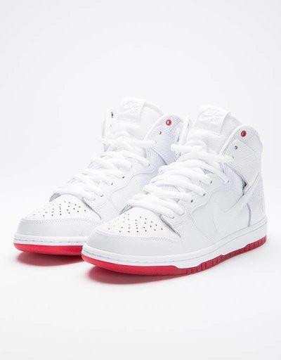 Nike SB Zoom Dunk High QS 'KB' White/White