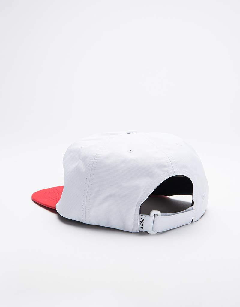 Post Details Shuffleboard Cap White/Red