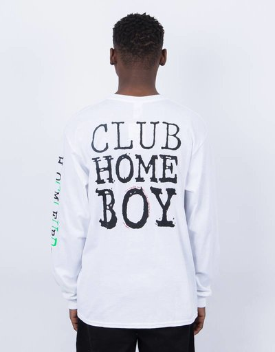 Dear Skating Club Homeboy Longsleeve White