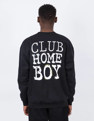 Dear Skating Club Homeboy Crewneck Black