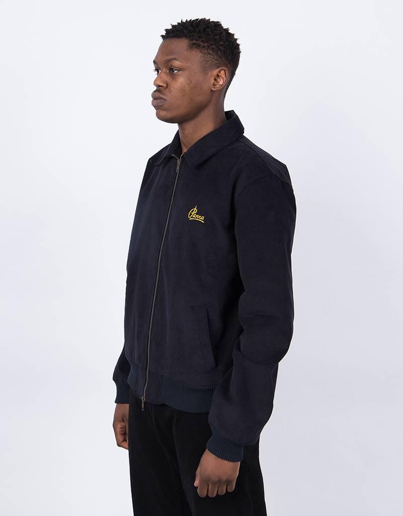 Parra Corduroy Club Jacket Navy Blue
