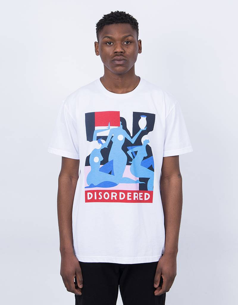 Parra Disordered T-Shirt White