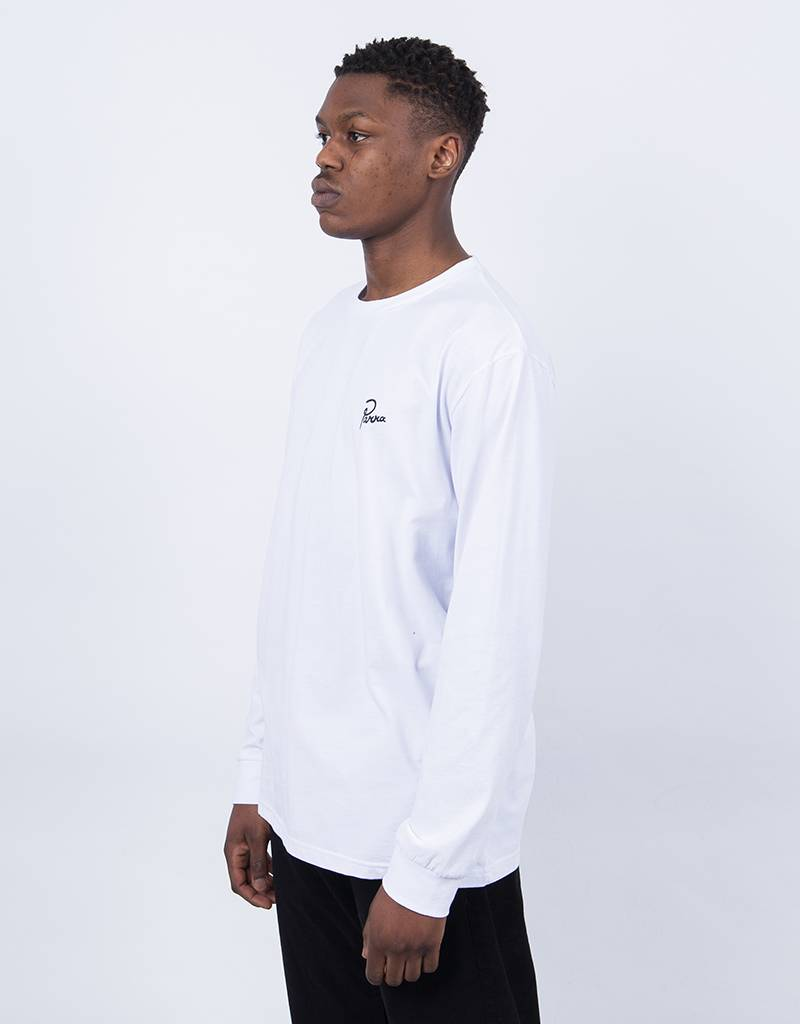 Parra The Joy Inside Longsleeve T-Shirt White
