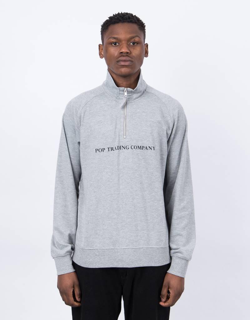 Pop Trading Co Sportswear Halfzip Grey