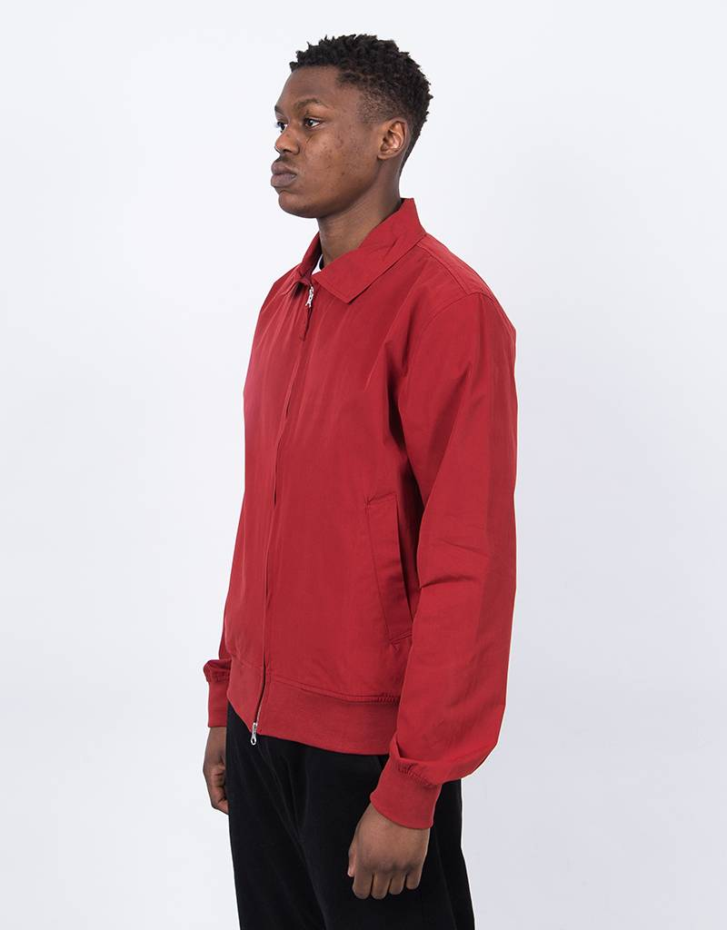 Pop Trading Co Sportswear Fullzip Jacket Pepper Red
