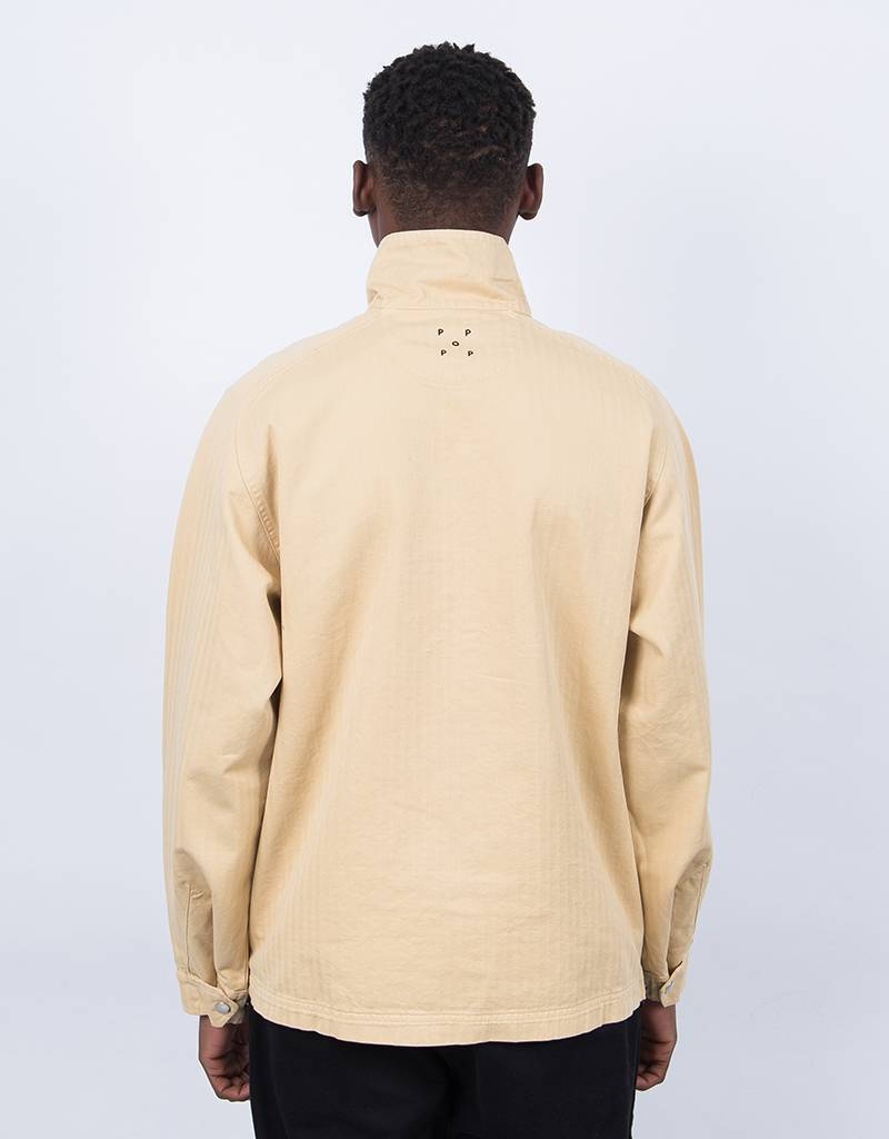Pop Trading Co DRS Halfzip Jacket Tan