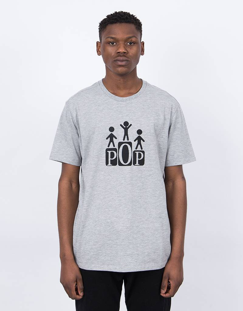 Pop Trading Co Champs T-Shirt Grey