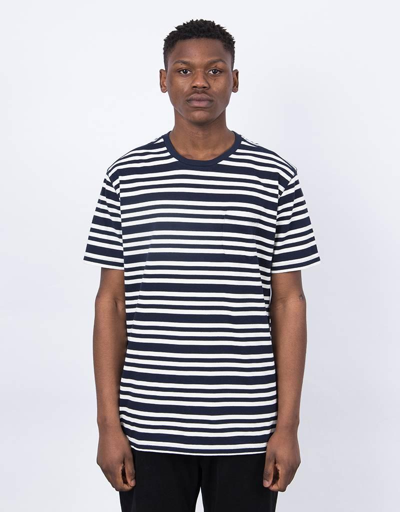 Pop Trading Co Triple Stripe Pocket T-Shirt