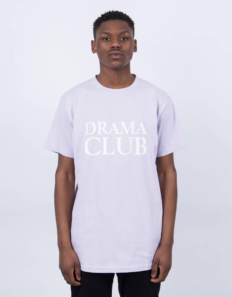 Post Details Drama Club Logo T-Shirt Pastel Purple