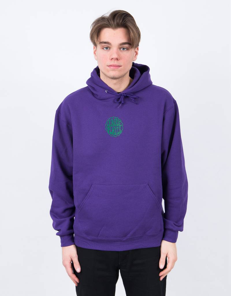 Alltimers Hacker Hoodie Dark Purple