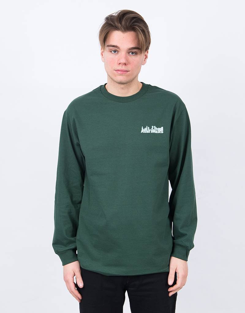Alltimers Late Longsleeve Forest Green