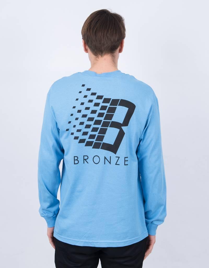 Bronze Classic Logo Longsleeve Slate/Black