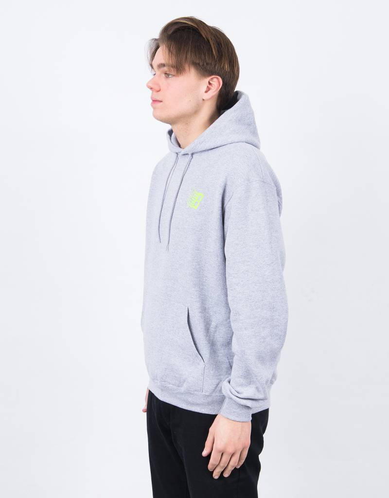 Bronze Classic Logo Hoodie Heather Grey