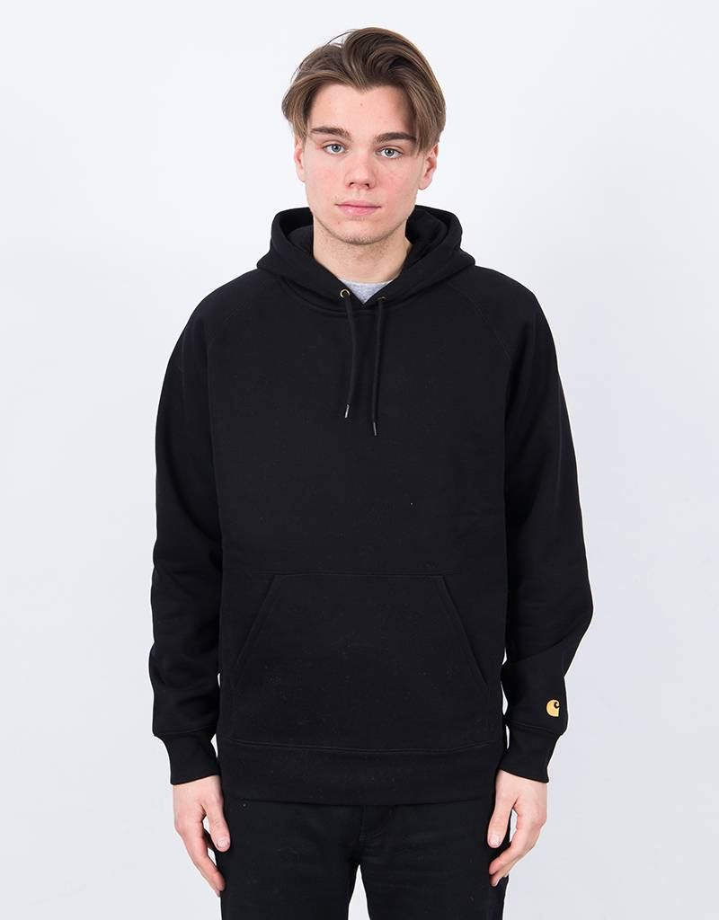 Carhartt Chase Hoodie Black/Gold SS