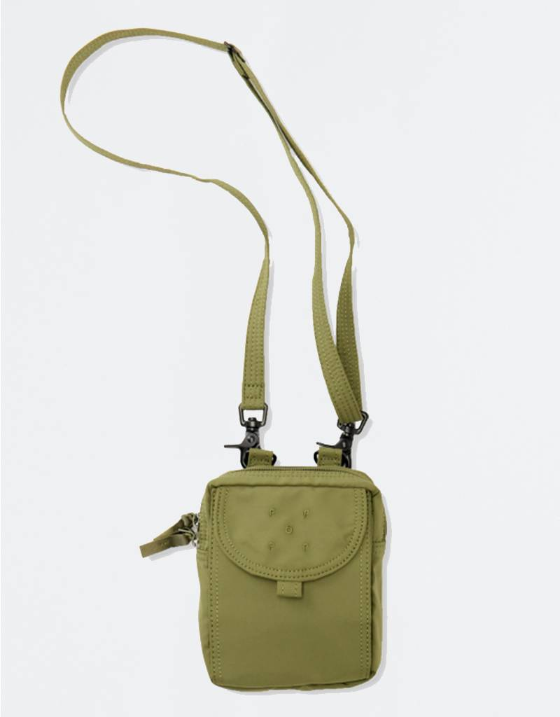 Pop Trading Co Passport Pouch Olive