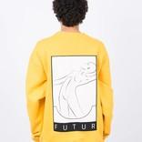 Futur 01 Patch Crewneck Yellow