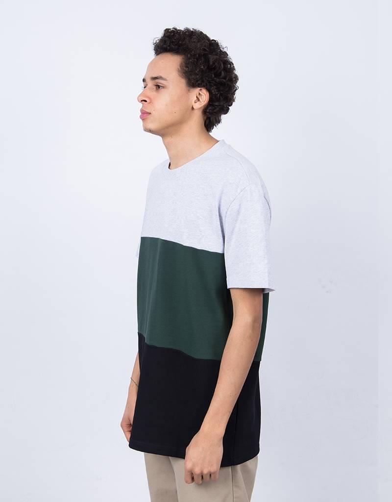 Futur HW Block T-Shirt Heather Grey