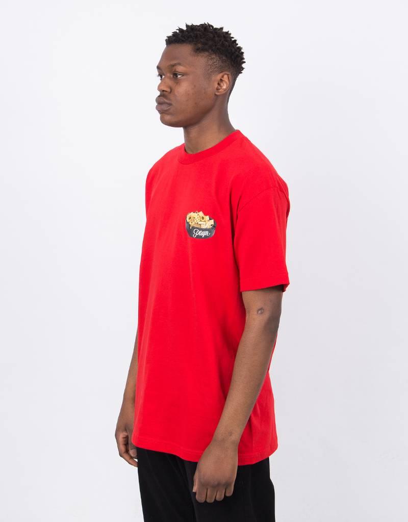Alltimers Bar Mix Logo T-Shirt Red
