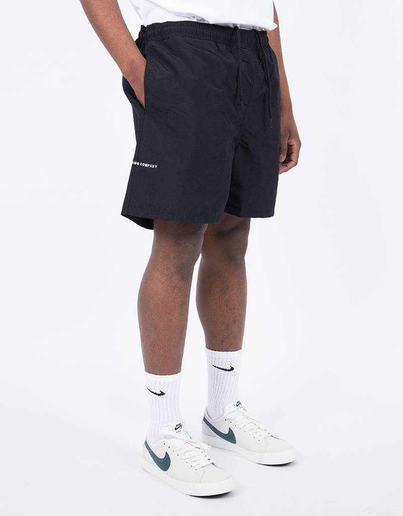Pop Trading Co Painter Shorts Black